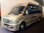We take delivery of our new 19 seat mini coach