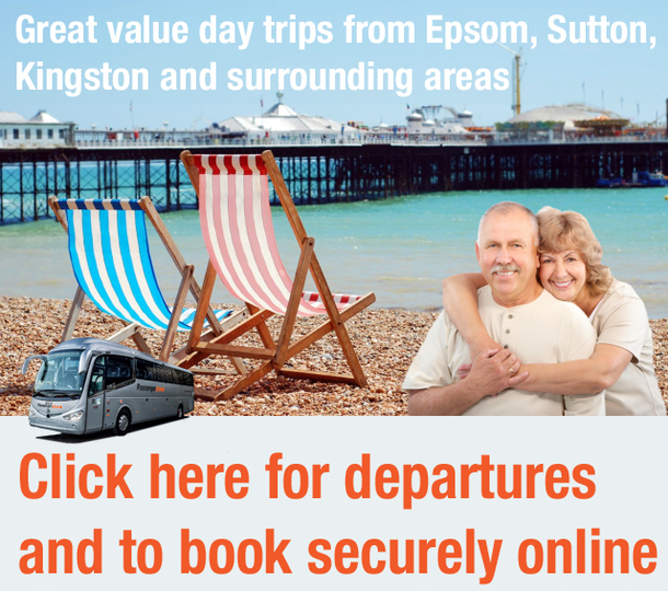 Passenger Plus launch day trips program from Epsom, Sutton, Kingston and surrounding areas.