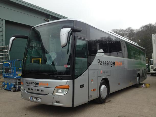 We take delivery of another 53 seat coach