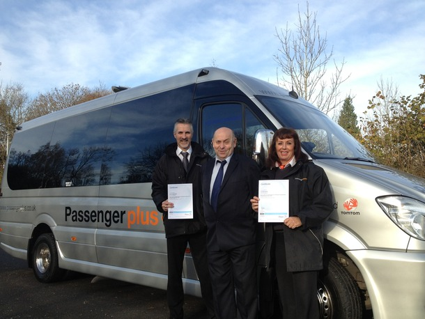 Passenger Plus drivers gain NVQ Level 2